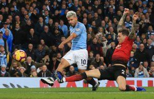 Hasil pertandingan Manchester City Vs Manchester United