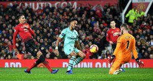 Hasil Akhir Pertandingan Manchester United vs Arsenal