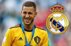 Real Madrid Siap Menukar Dua Pemainnya Dengan Eden Hazard