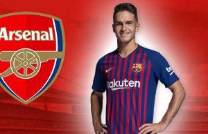 Gelandang Barcelona Denis Suarez telah setuju untuk bergabung dengan Arsenal setelah mengadakan pembicaraan dengan Unai Emery