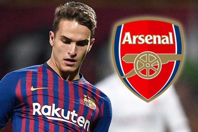 Arsenal hampir menyetujui kesepakatan untuk mendatangkan gelandang Barcelona Denis Suarez sebagai pemain pinjaman