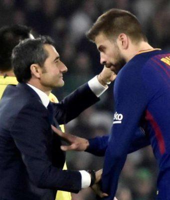 Gerard Pique : Kami Berharap Valverde Akan Tinggal Satu Tahun Lagi
