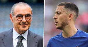 Maurizio Sarri Terkejut Dengan Situasi Kontrak Hazard