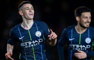 Manchester City berhasil melaju kebabak 16 besar FA Cup setelah menang 4-1 saat mendatangi markas dari Newport County