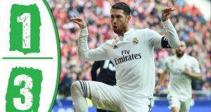 Atletico Madrid harus mengakui kehebatan tamunya Real Madrid setelah kalah dalam Derby Madrid yang berlangsung di stadion Wanda Metropolitan