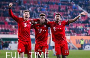Bayern Munchen Kembali Mendekati Poin Dortmund