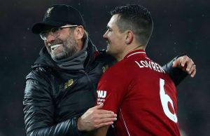 Jurgen Klopp : Dejan Lovren Tidak Akan Hadapi Bayern