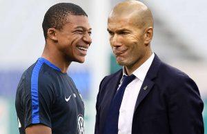 Zidane Ingin Mendatangkan Mbappe Ke Santiago Bernabeu