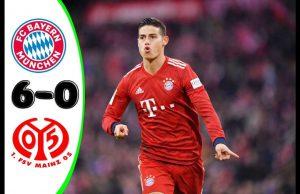 Bayern Munchen Telah Menaklukan Mainz Dengan Skor 6-0