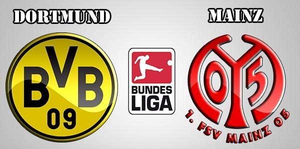 Prediksi Pertandingan Bundesliga : Borussia Dortmund vs Mainz 05