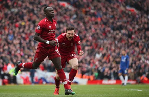 Hasil Akhir Pertandingan Liverpool vs Chelsea