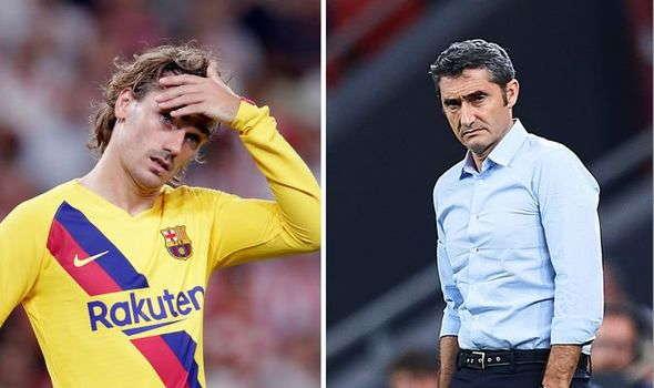 Valverde Telah Meminta Griezmann Untuk Lebih Terlibat Di Barca
