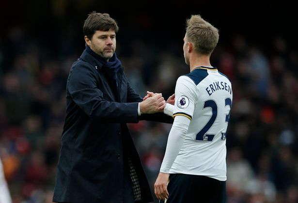 Pochettino : Christian Eriksen Selalu Senang Di Tottenham