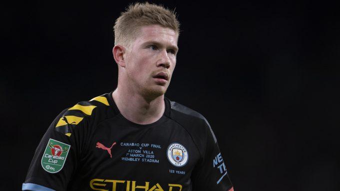 Kevin de Bruyne Diragukan Tampil Pada Derby Manchester