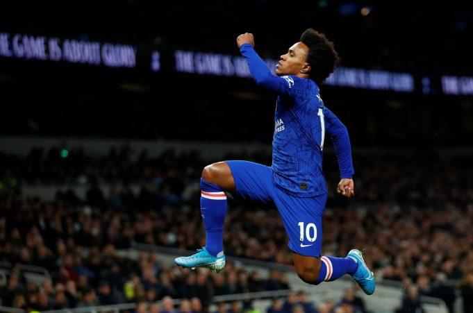 Willian Rela Bermain Dengan Chelsea di Luar Kontraknya