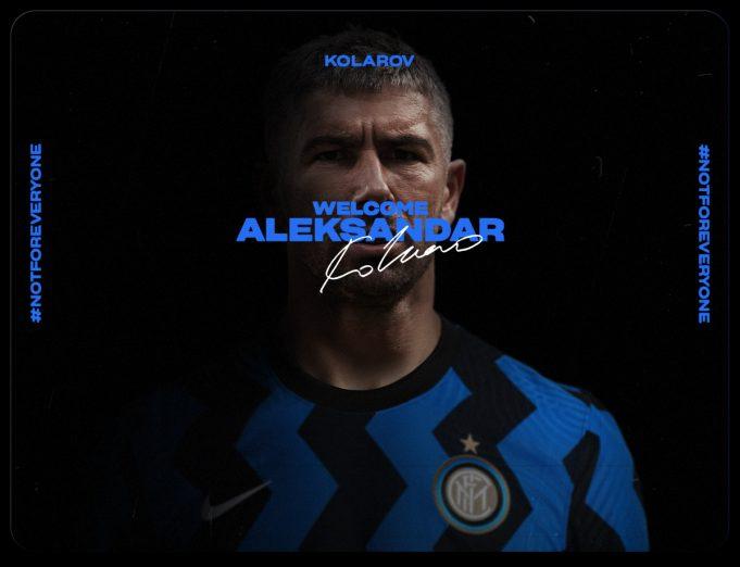 Aleksandar Kolarov Senang Dengan Kepindahannya ke Inter Milan
