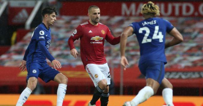 Luke Shaw Kecewa Timnya Gagal Mengalahkan Chelsea