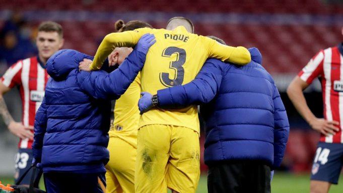 Cedera Pique Membuat Barcelona Harus Mencari Penggantinya