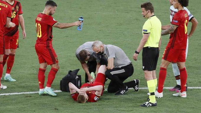 Courtois : Cedera De Bruyne Dan Hazard Kelihatannya Tidak Bagus