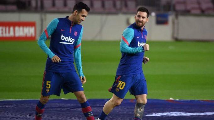 Sergi Busquets : Messi Akan Tentukan Masa Depannya Sendiri